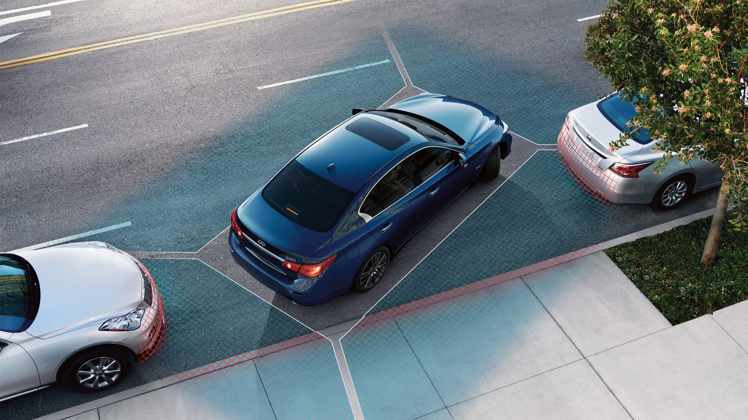 Pushing Technology Further an Elevated Parking Experience | INFINITI