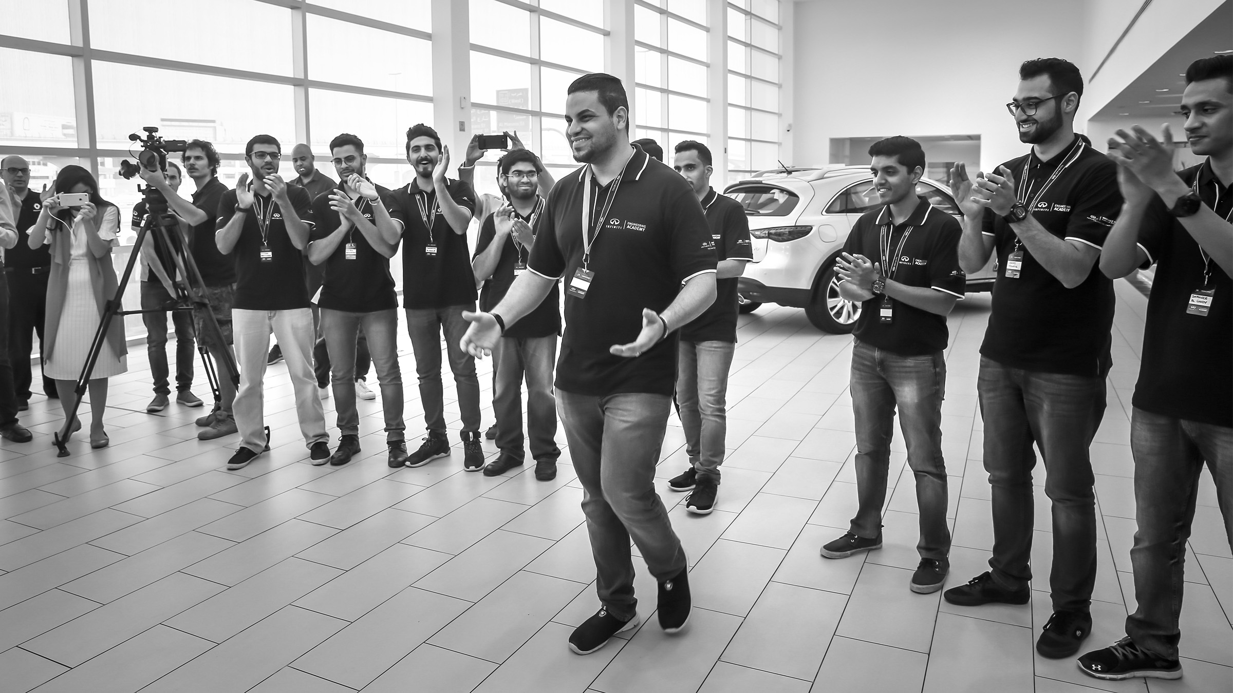 INFINITI Engineering Academy Winner Yazan Alhindawi