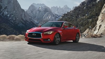 2018 INFINITI Q60 Red Sport 400 Sports Coupe Design | Wide Powerful Stance